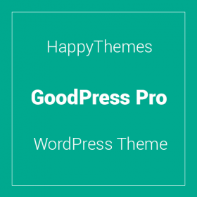 HappyThemes GoodPress Pro 1.4