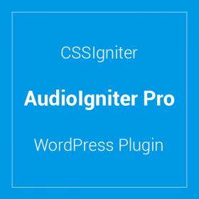 CSSIgniter AudioIgniter Pro