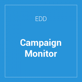Easy Digital Downloads Campaign Monitor