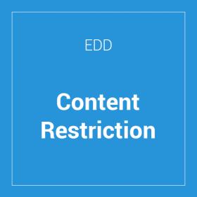 Easy Digital Downloads Content Restriction
