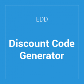 Easy Digital Downloads Discount Code Generator
