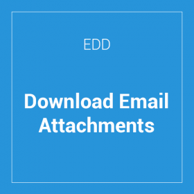 Download Email Attachments for EDD
