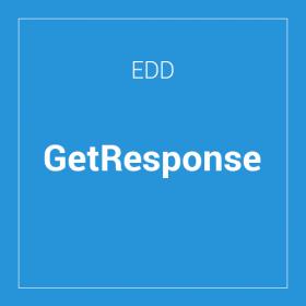 Easy Digital Downloads GetResponse