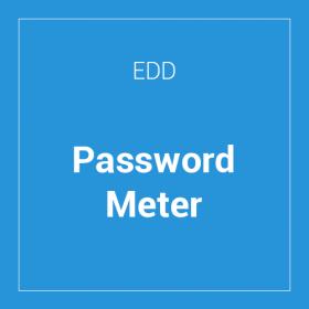 Easy Digital Downloads Password Meter