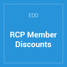 Easy Digital Downloads Restrict Content Pro Member Discounts