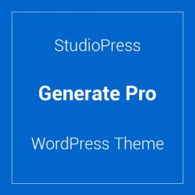 StudioPress Generate Pro