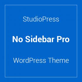 StudioPress No Sidebar Pro