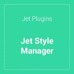 Jet Style Manager For Elementor 1.1.5
