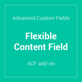 Advanced Custom Fields - Flexible Content Field