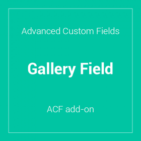 Advanced Custom Fields - Gallery Field
