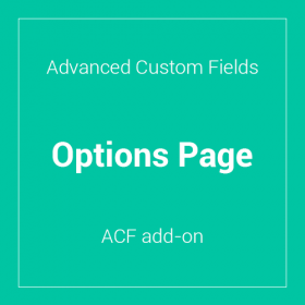 Advanced Custom Fields - Options Page