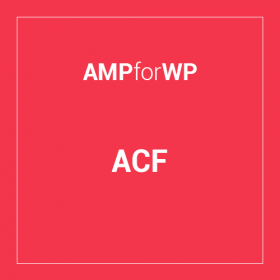 Advanced Custom Fields for AMP 2.8.3