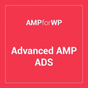 Advanced AMP ADS 1.19.8