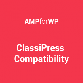Classipress Theme Compatibility for AMP 0.7