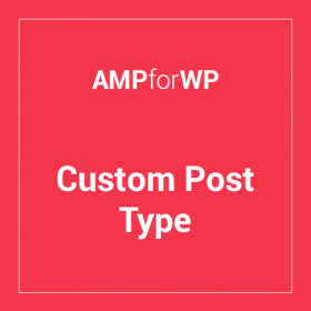 Custom Post Type Support for AMP