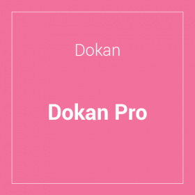 Dokan Pro Multivendor Marketplace Plugin