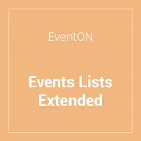 EventON Events Lists Extended Add-on