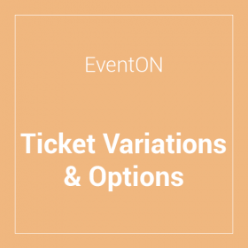 EventON Ticket Variations & Options Add-on