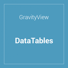 GravityView DataTables Extension