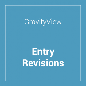 GravityView Entry Revisions Extension