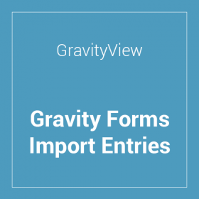Gravity Forms Import Entries Extension