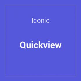 Iconic WooCommerce Quickview