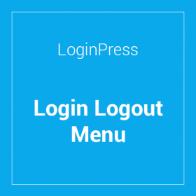 LoginPress Login Logout Menu