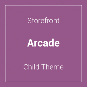 Storefront Arcade Child Theme