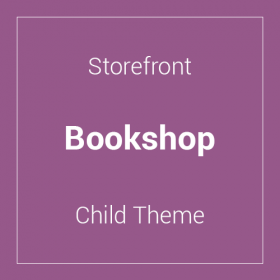 Storefront Bookshop Child Theme