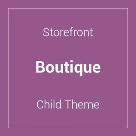 Storefront Boutique Child Theme