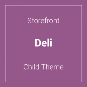 Storefront Deli Child Theme