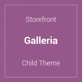 Storefront Galleria Child Theme