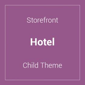 Storefront Hotel Child Theme