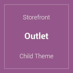 Storefront Outlet Child Theme