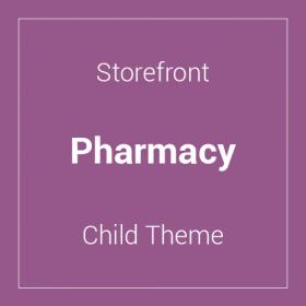 Storefront Pharmacy Child Theme