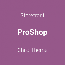 Storefront ProShop Child Theme