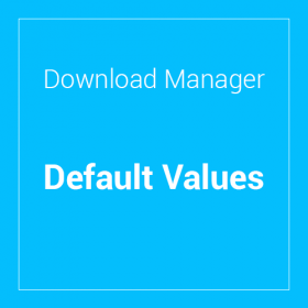 WP Download Manager Default Values