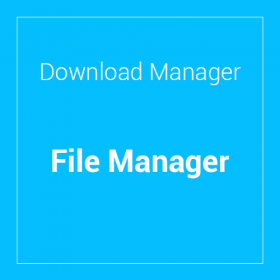 WP Download Manager File Manager