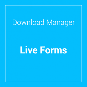WP Download Manager Live Forms