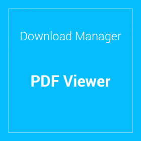 WP Download Manager PDF Viewer