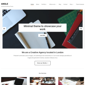 WPZoom Angle WordPress Theme