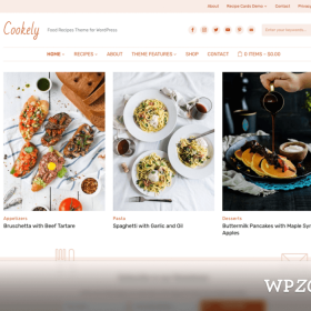WPZoom Cookely WordPress Theme