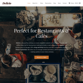WPZoom Delicio WordPress Theme