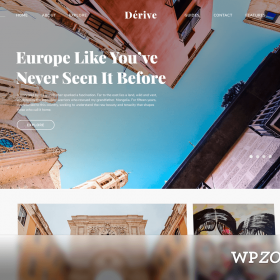 WPZoom Dérive WordPress Theme