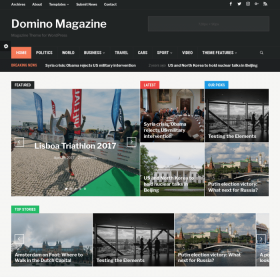 WPZoom Domino WordPress Theme
