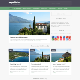 WPZoom Expedition WordPress Theme