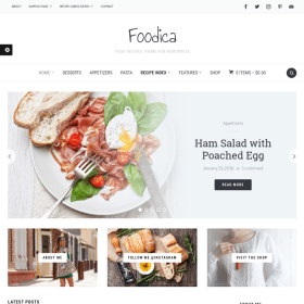 WPZoom Foodica WordPress Theme