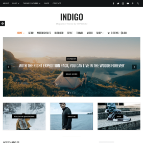 WPZoom Indigo WordPress Theme