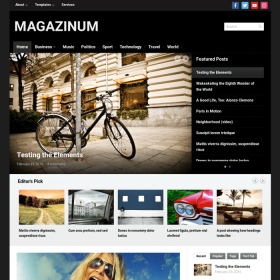 WPZoom Magazinum WordPress Theme