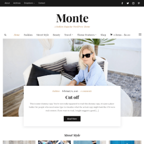 WPZoom Monte WordPress Theme